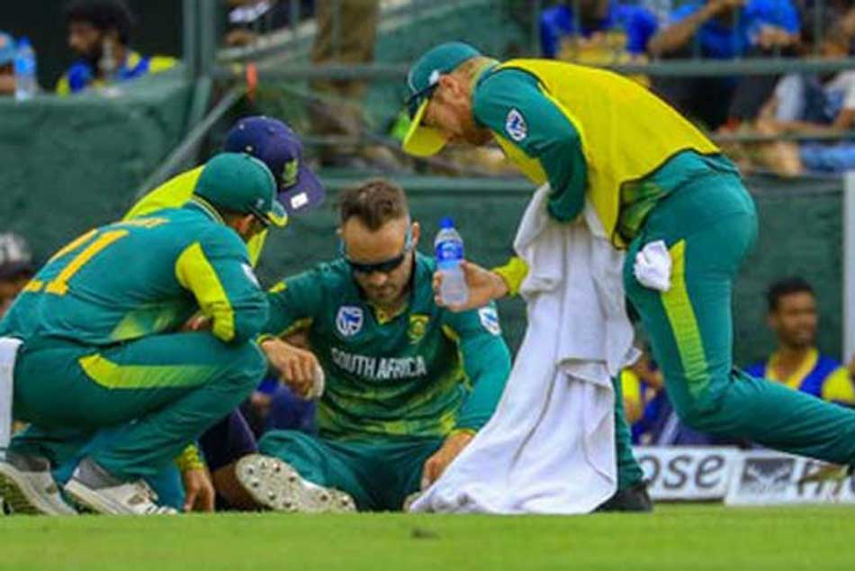 South Africa captain Faf Du Plessis ruled out of remainder of Sri Lanka tour