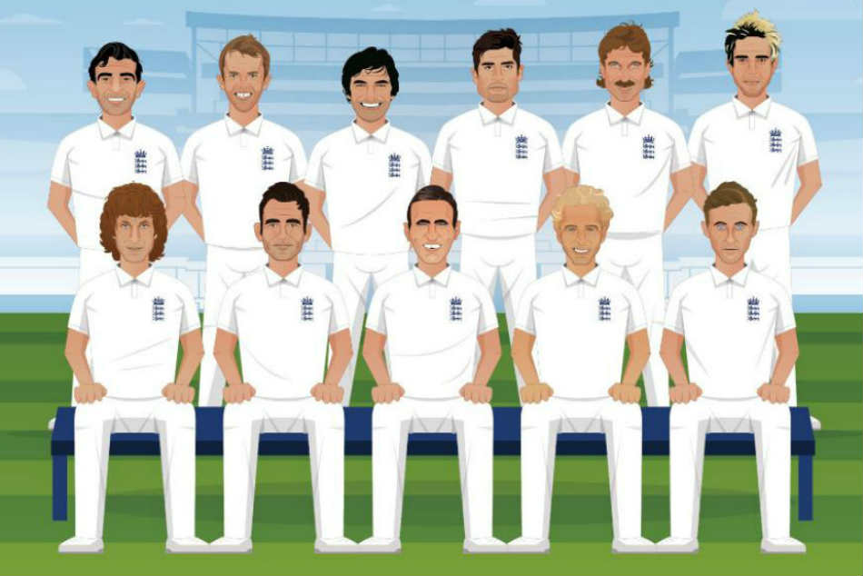 Legends and Current Stars Find Place in Englands Best Ever Test XI on Eve of Their 1000th Test