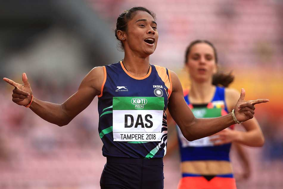 Oil India grants Rs 20 lakh to sprint sensation Hima Das