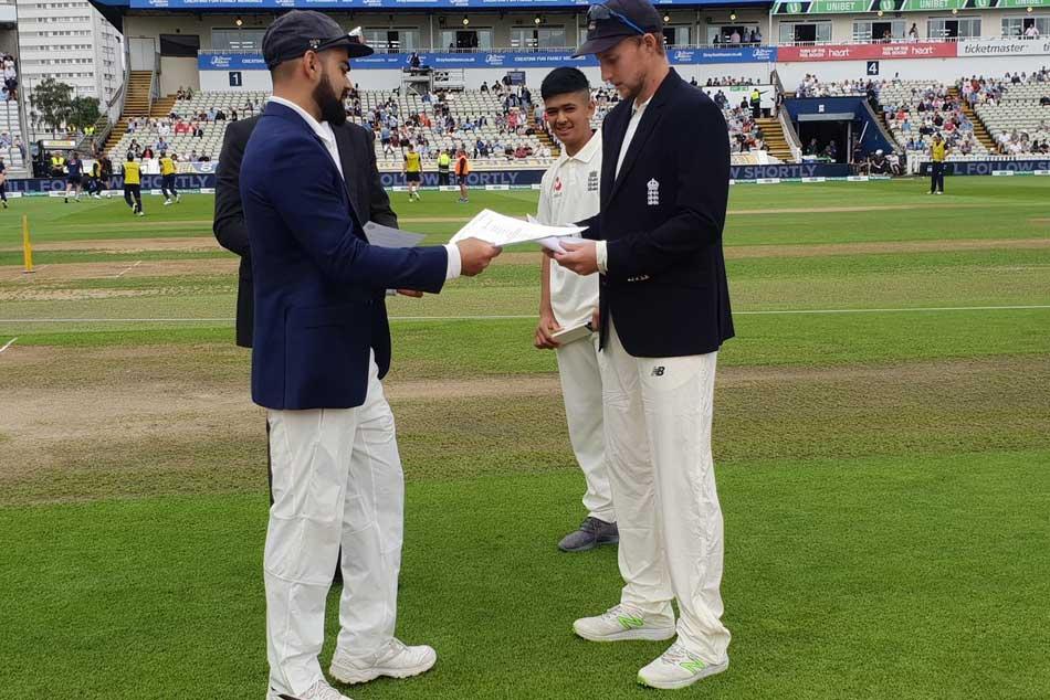 India Vs England 1st Test Day 1 Virat Kohli Co Set English Challenge