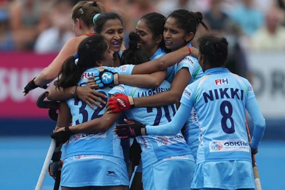 Women S Hockey World Cup 2018 India Breeze Past Italy Book Quarter Final Berth
