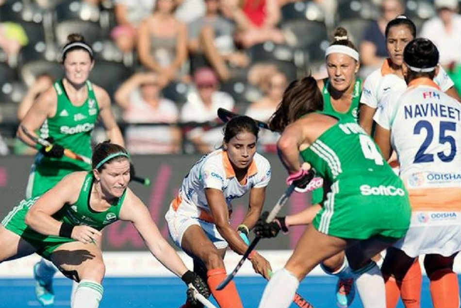 India Vs Ireland Women S Hockey World Cup Highlights India Lose To Ireland In Tie Breaker