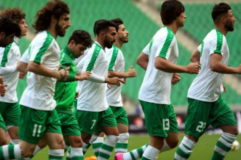 Iraq Pull Of Asian Games Football Tournament