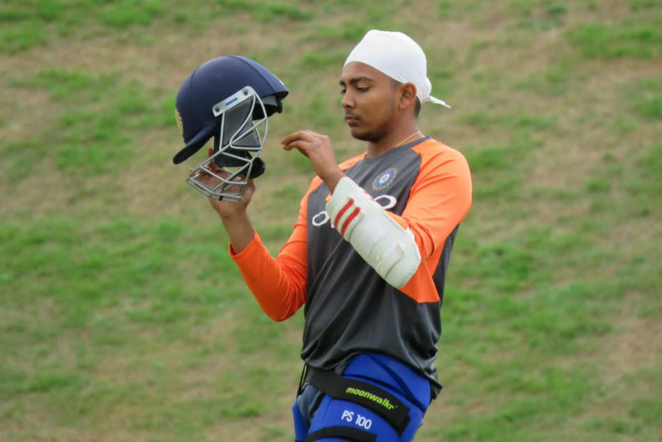 ENG vs IND 2018: Prithvi Shaw Starts Training with Team India after Debut Test Call