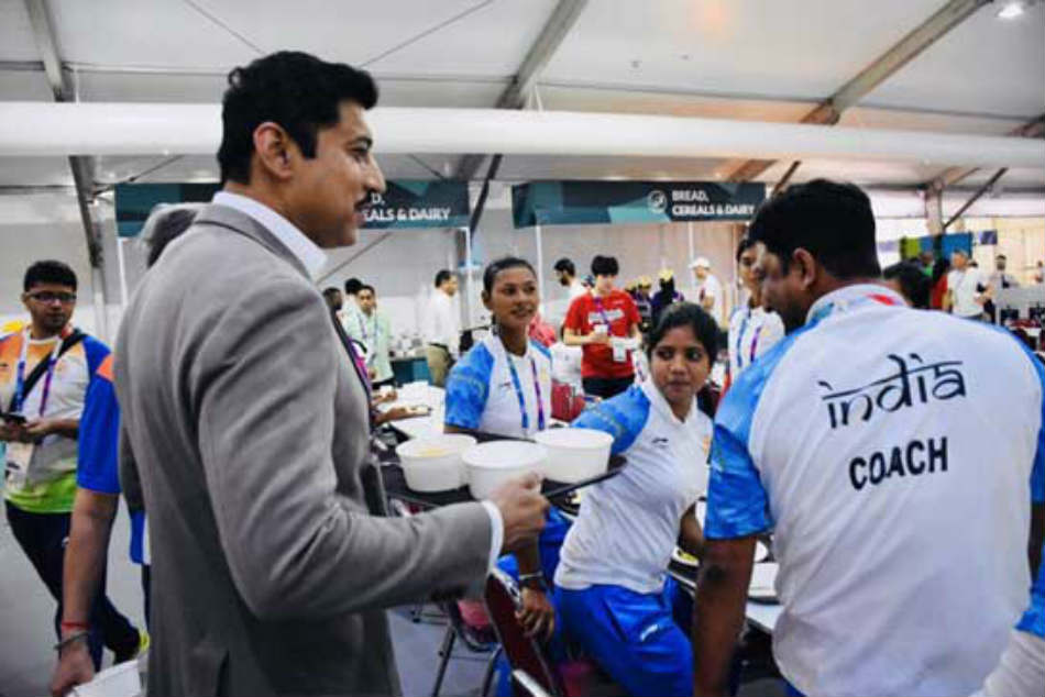 Minister Rathores Gesture For Team At Asiad Gets Social Media Thumbs Up