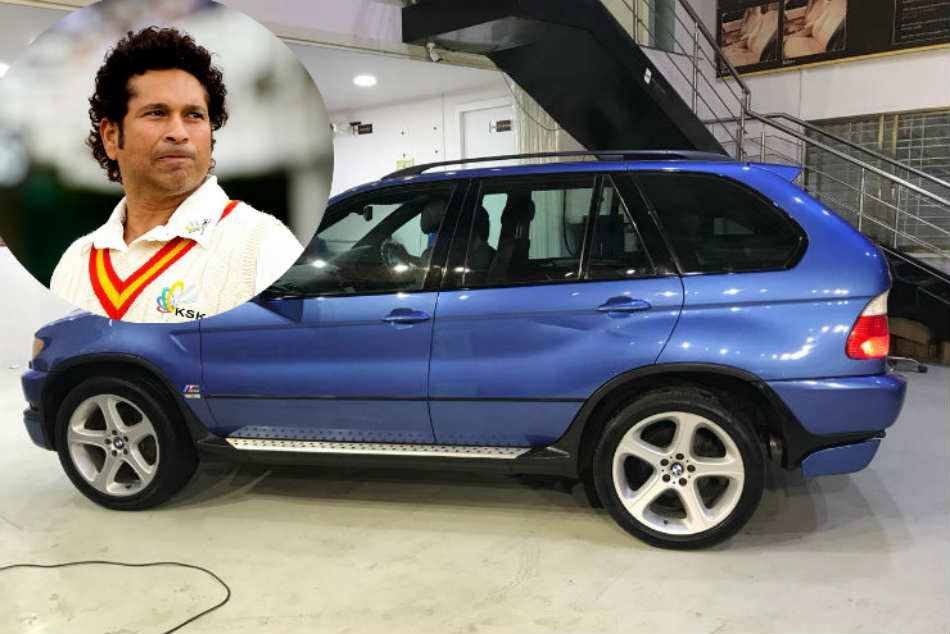 Sachin Tendulkars blue BMW X5M on sale; heres how you can buy it