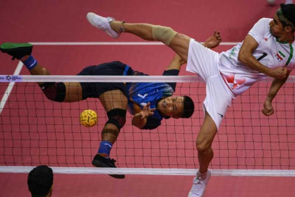 Thailand 0-2 in Sepaktakraw (Mens Team Regu) in Semis but still get Bronze Medal