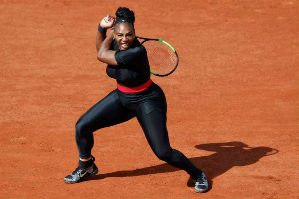 Serena Williams Black Catsuit Banned From French Open