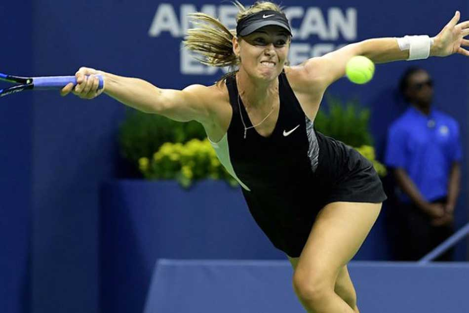 Maria Sharapova Soldiers Past Sorana Cirstea Advance Round