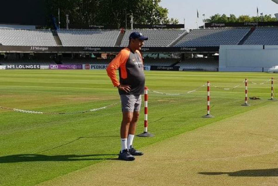 Ravi Shastri Pot Belly Becomes The Jokes On Twitter