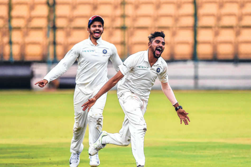 Siraj takes 10-for as India A beat South Africa A by innings and 30 runs