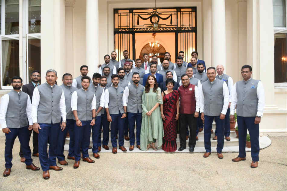 So here's why Anushka Sharma was in picture with Team India at High Commission of India, as told by BCCI source