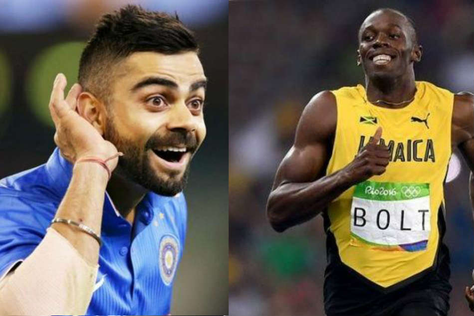 This Conversation Between Virat Kohli And Usain Bolt Leaves Fans Wondering If Dhoni Will Challenge The Latter To A Race