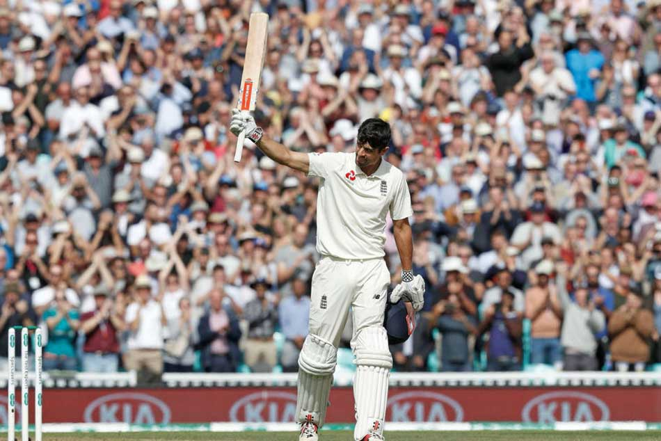 India Vs England 5th Test Alastair Cook Slams Ton Farewell Test Twitter Salutes The Chef
