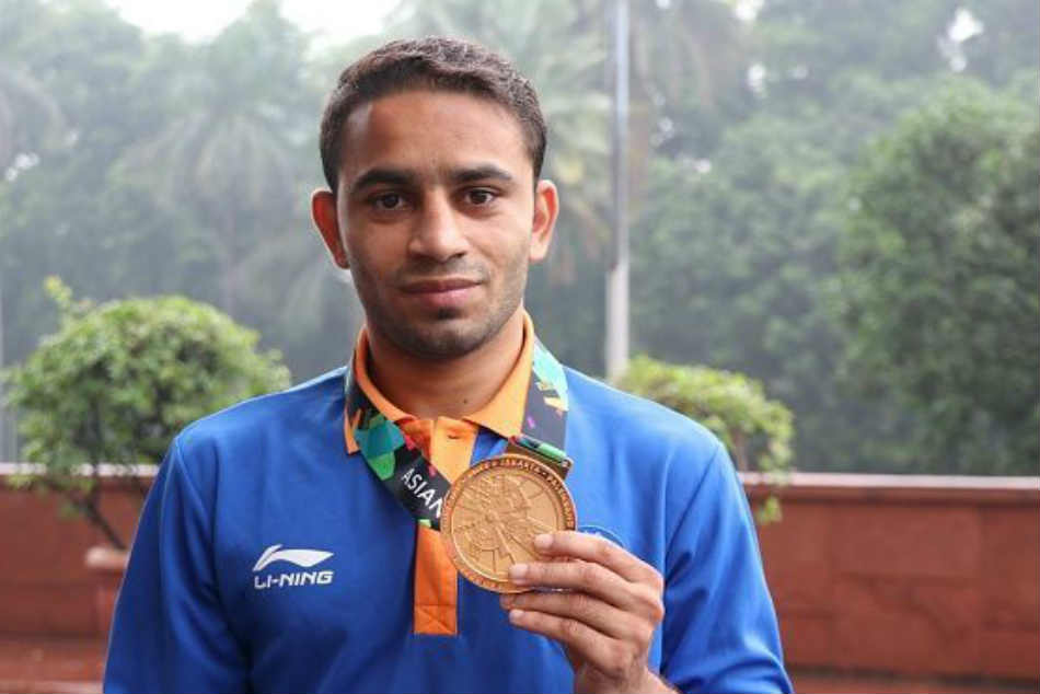 Asiad Gold Medallist Amit Panghal Nominated Arjuna Award
