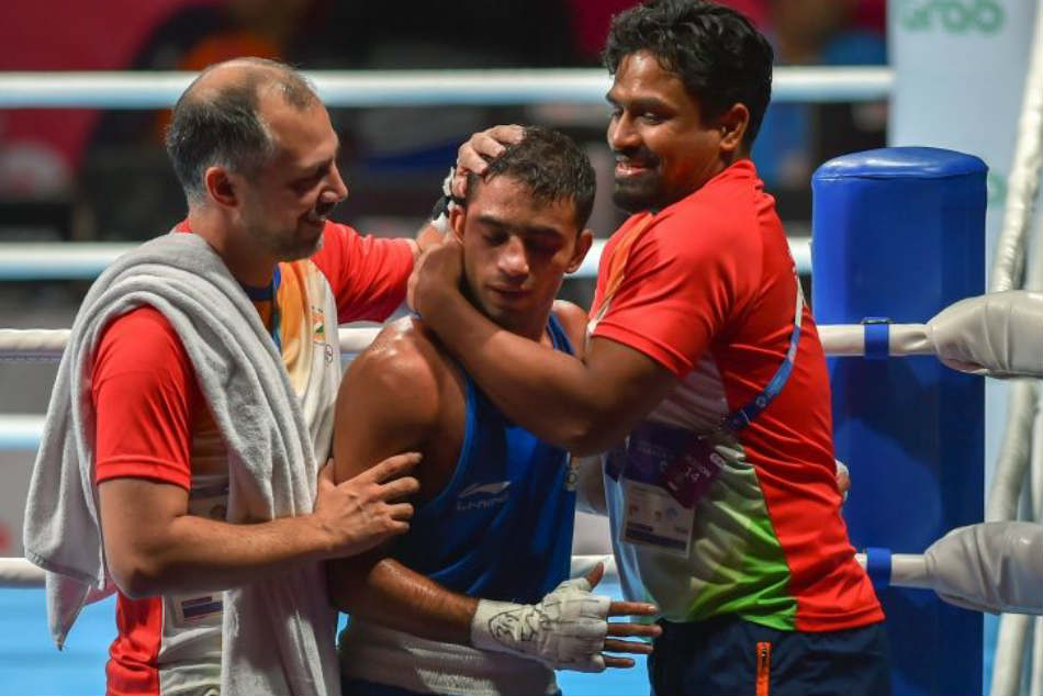Premature baby to Asian Games champ: Family traces Amit Panghal's path to glory