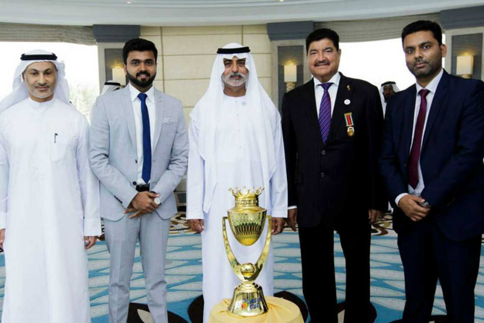 Asia Cup 2018 Trophy Unveiled In Dubai