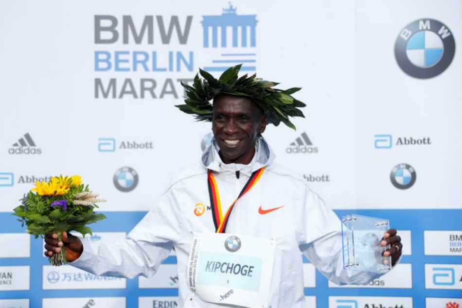 Eliud Kipchoge Smashes World Marathon Record 78 Seconds Berlin
