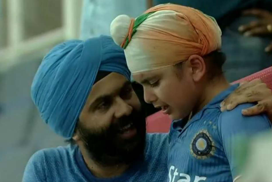Young India fan fails to hold back tears after tie against Afghanistan