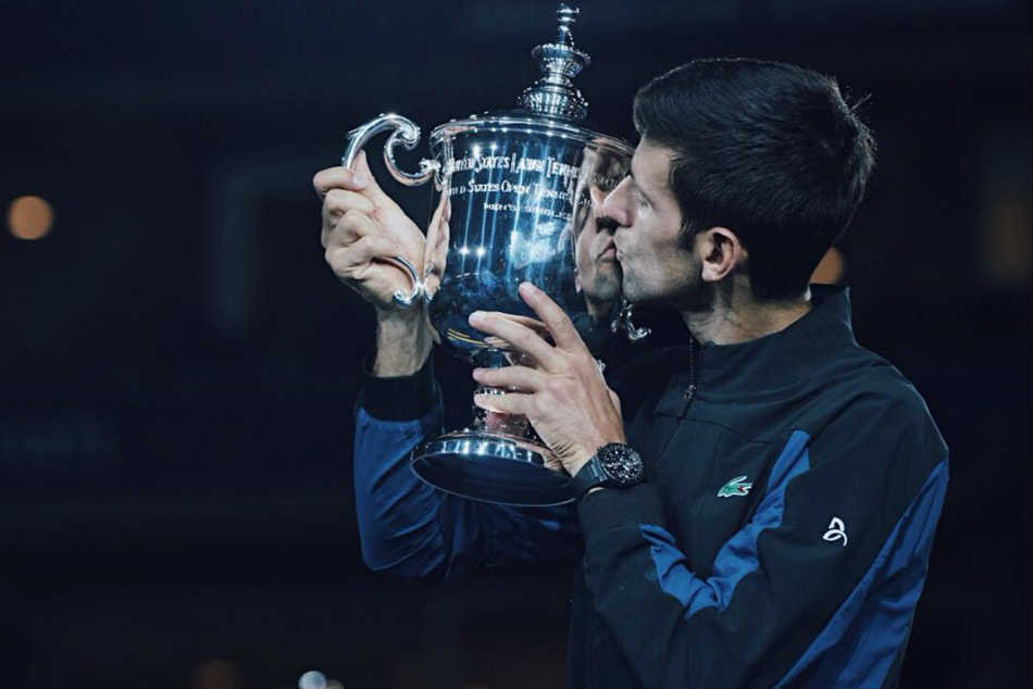 Magnificent Djokovic equals Sampras slam haul with US Open glory