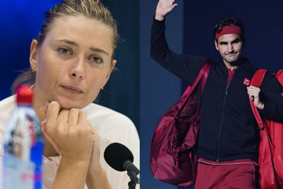 Federer Sharapova Crash Of Us Open