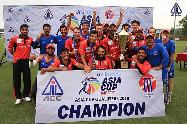 Hong Kong beat UAE to qualify for Asia Cup