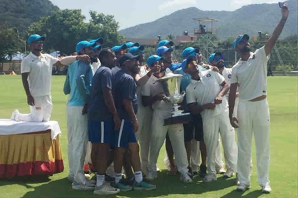 Duleep Trophy: Spinners Saurabh Kumar, Deepak Hooda dismantle India Red as India Blue register innings win in final
