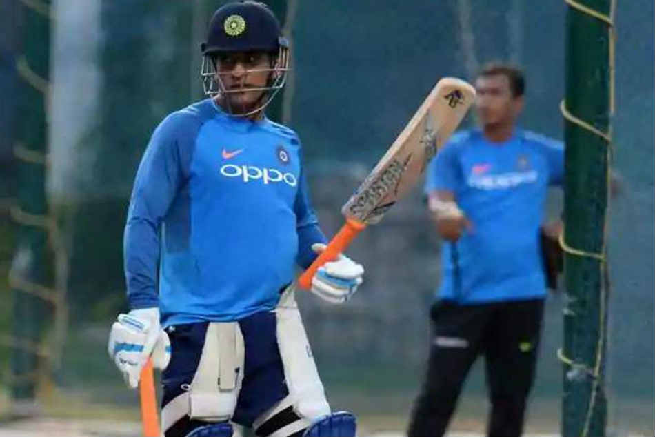Asia Cup 2018 Ms Dhoni Bats Full Flow At Nets As India Gear Up For Pakistan