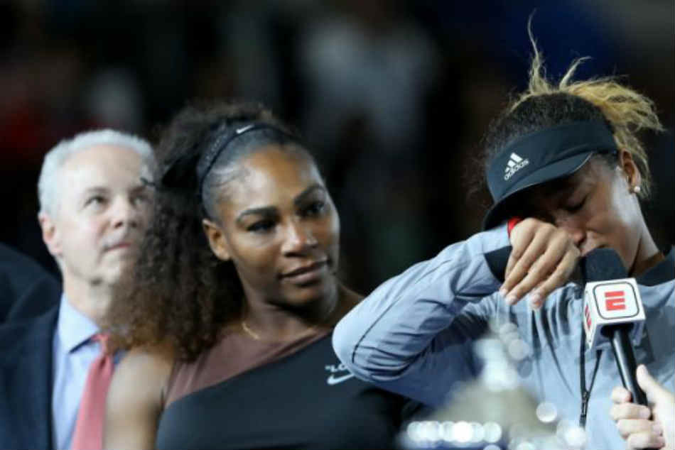 Us Open Final Osaka Makes History Amid Extraordinary Serena
