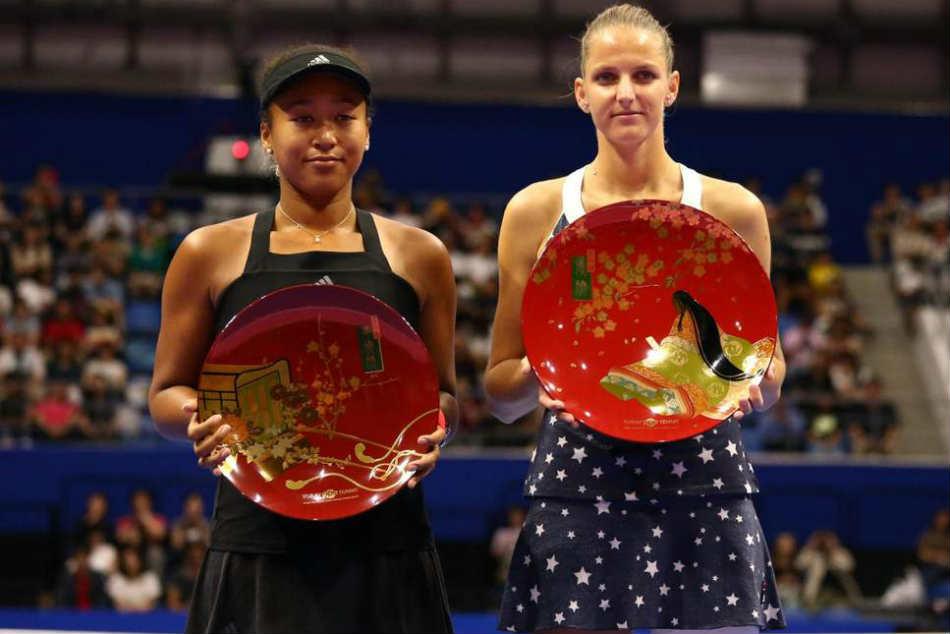 Karolina Pliskova Beats Us Champion Naomi Osaka Win Pan Pacific Open