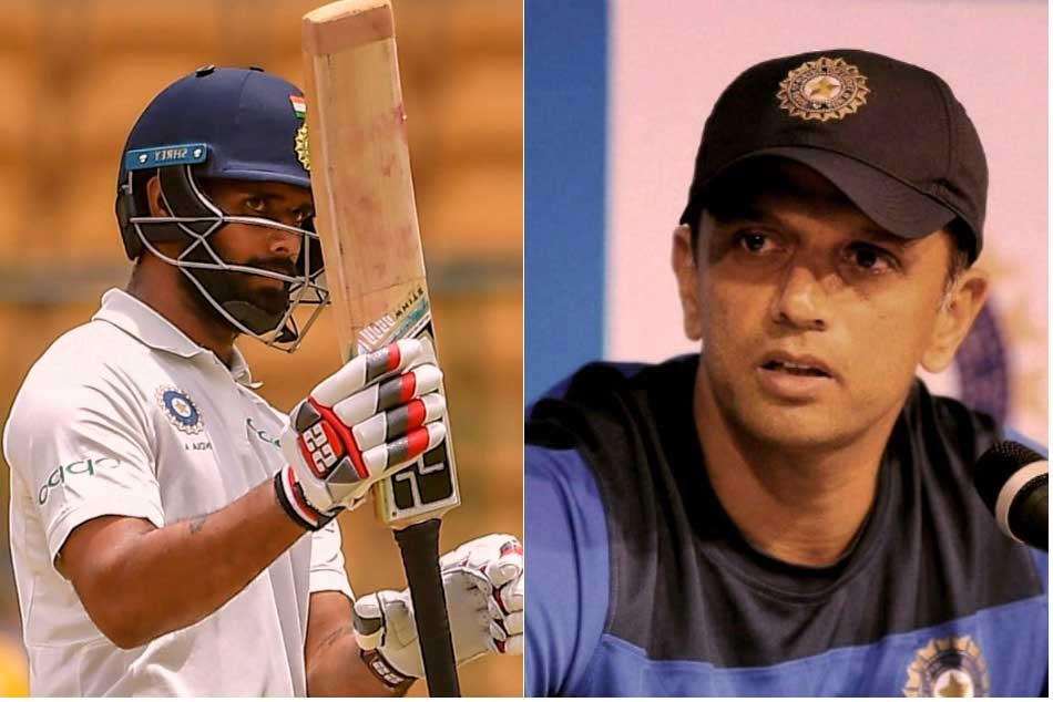 Speaking Rahul Dravid Eased My Nerves Hanuma Vihari
