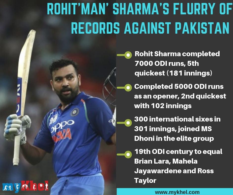 Stats Rohit Sharma Completes 5000 Runs As An Opener Odi Cricket