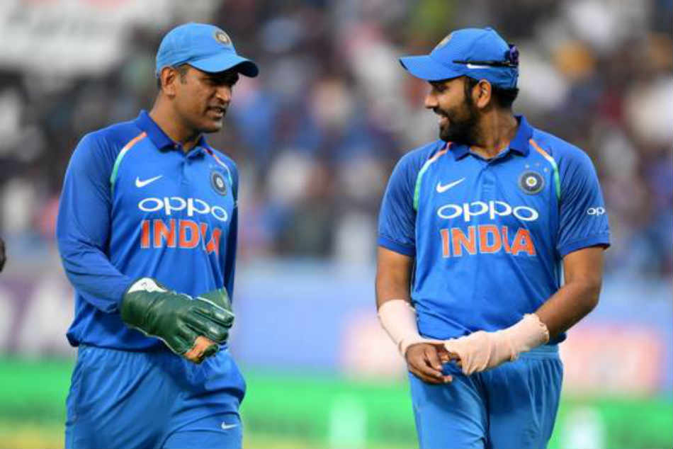 Rohit Sharma feels hes similar to Captain Cool MS Dhoni when it comes to calmness