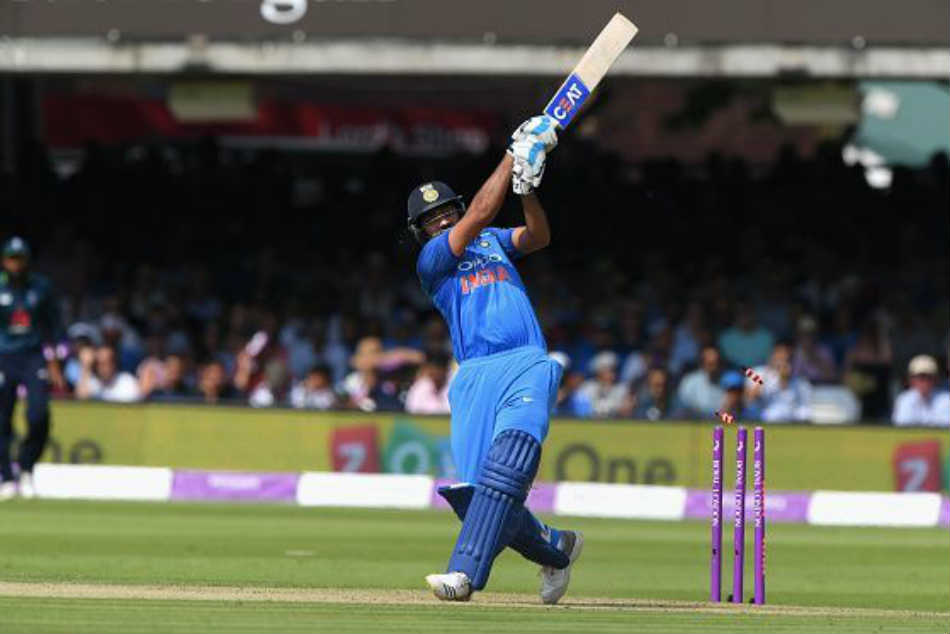 Stats Rohit Sharma Becomes The Second Fastest Hit 300 International Sixes Fastest Indian To Do So