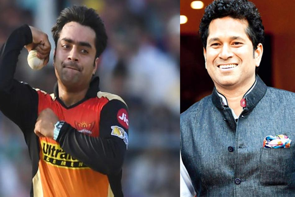 Sachin Tendulkar Sends Birthday Greetings Afghanistan S Rashid Khan