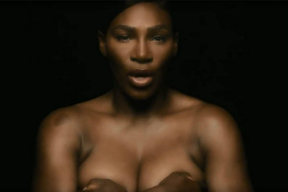 Watch Serena Williams Sing I Touch Myself Breast Cancer Awareness Inotiative