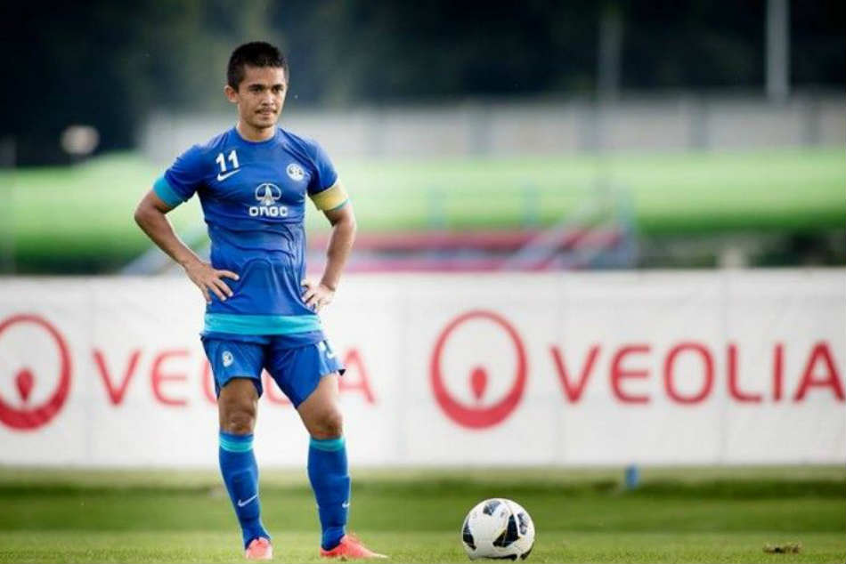 Indian Skipper Chhetri Ready Afc Asian Cup Challenge