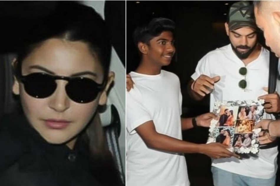 Netizens Slam Virat Kohli Anushka Sharma Behaving Rudely With Young Fan