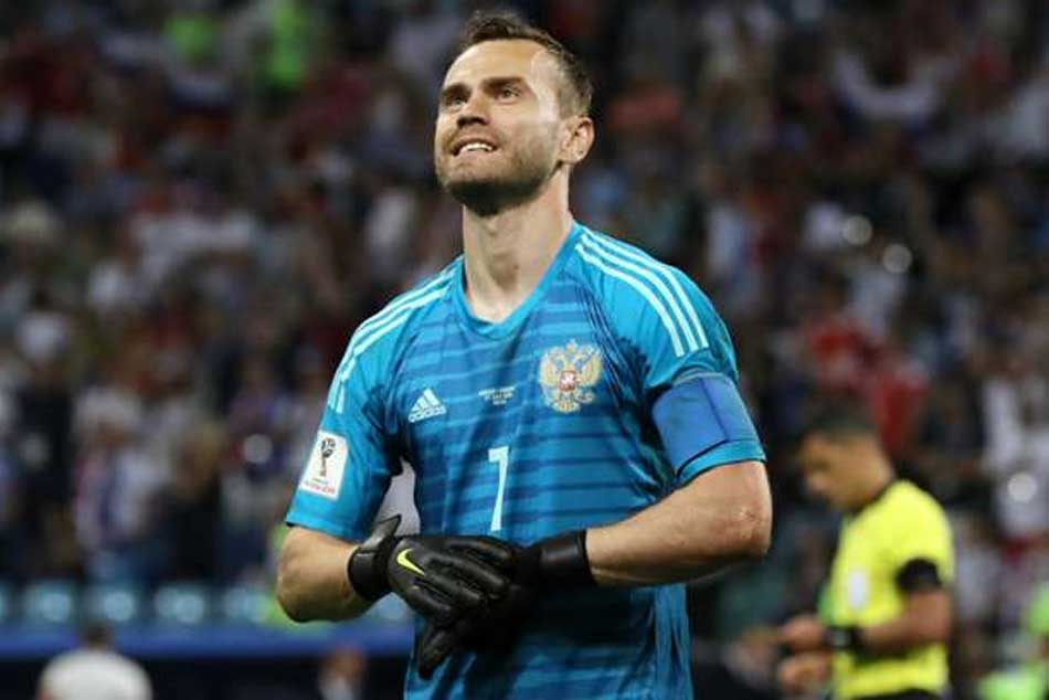 Akinfeev Announces Russia Retirement After Earning 111 Caps