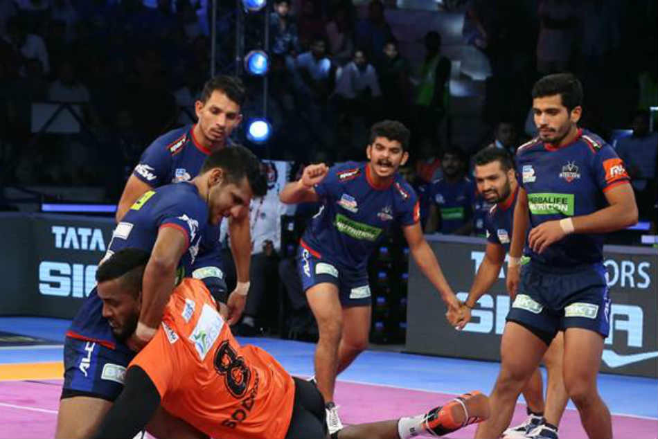 Pro Kabaddi League 2018 Bengaluru Bulls See Off Haryana Steelers