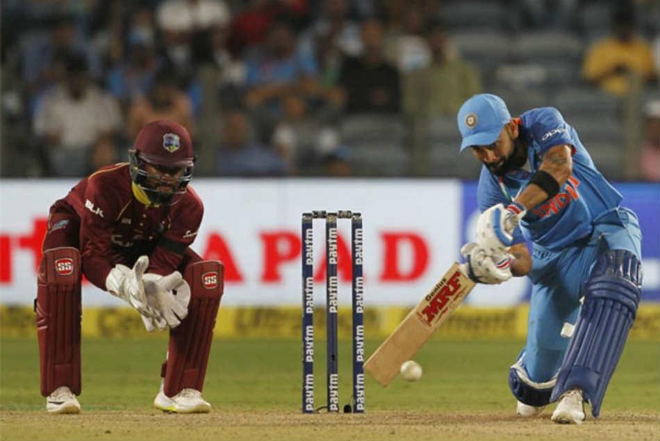 India Vs West Indies Live Cricket Score 3rd Odi Pune Kohli Ton In Vain As Wi Level Series