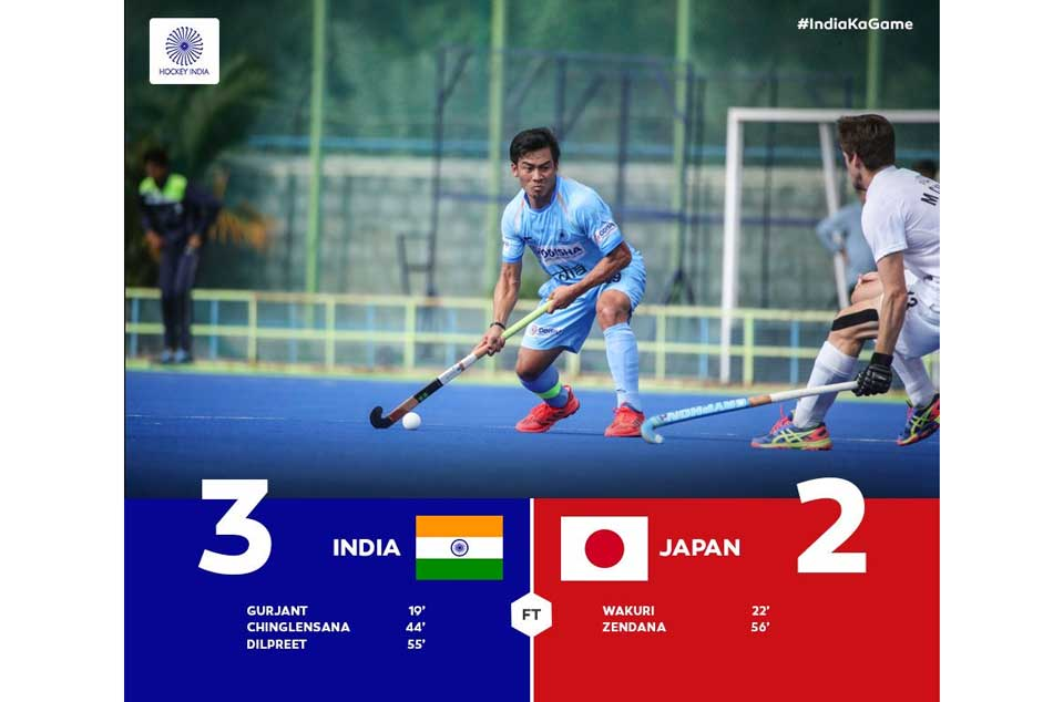 Asian Hockey Championship 2018 Highlights India Beat Japan 3 2 In Semi Final