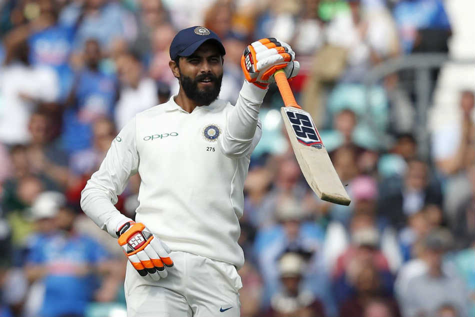 India Vs West Indies Ravindra Jadeja Dedicates Maiden Test Hundred
