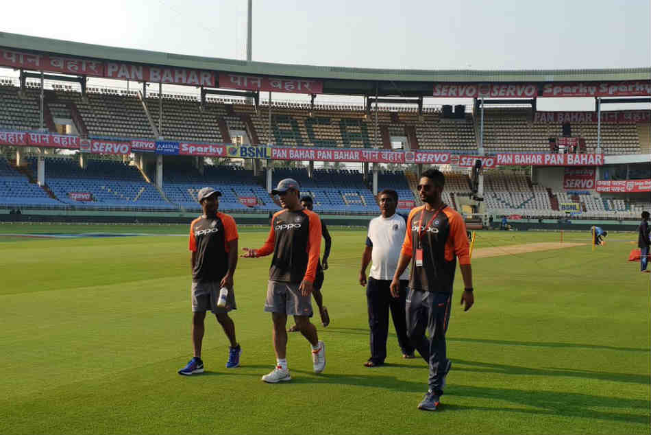 The King Is Here Dhoni Relives Fond Memories At Happy Hunting Ground Vizag