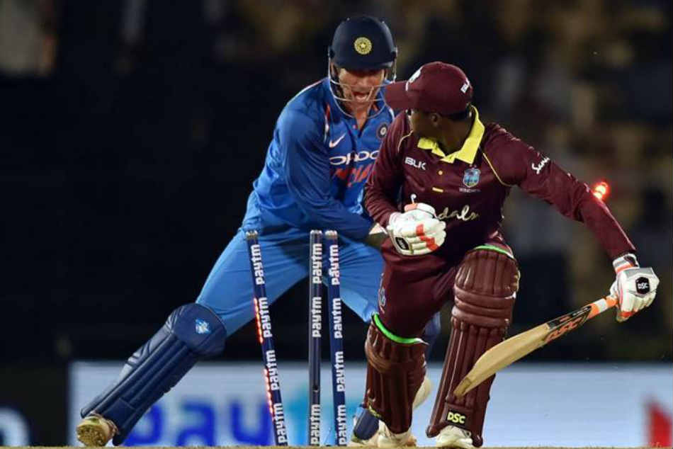 India vs West Indies: MS Dhoni stumps Keemo Paul, Ravindra Jadeja taken by surprise