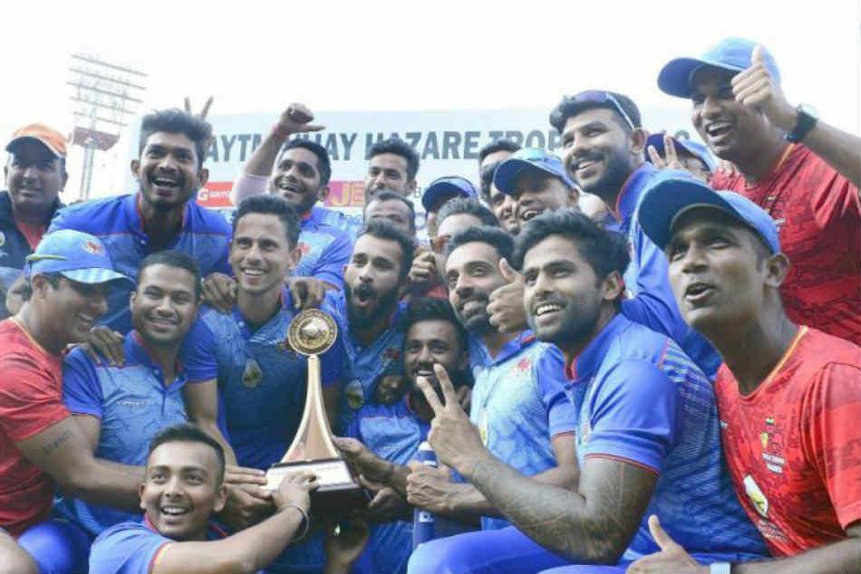 Mumbai Vs Delhi Vijay Hazare Trophy Final Highlights Mumbai Win By Four Wickets