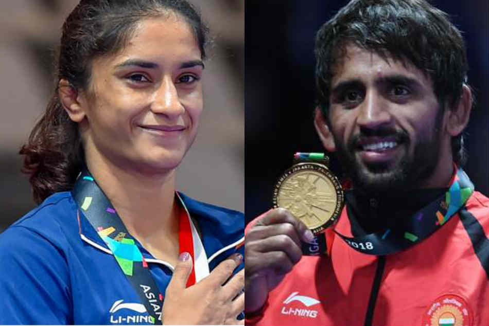 Sports Ministry announced for Padma Shri Award to Bajrang Punia, and Vinesh Phogat