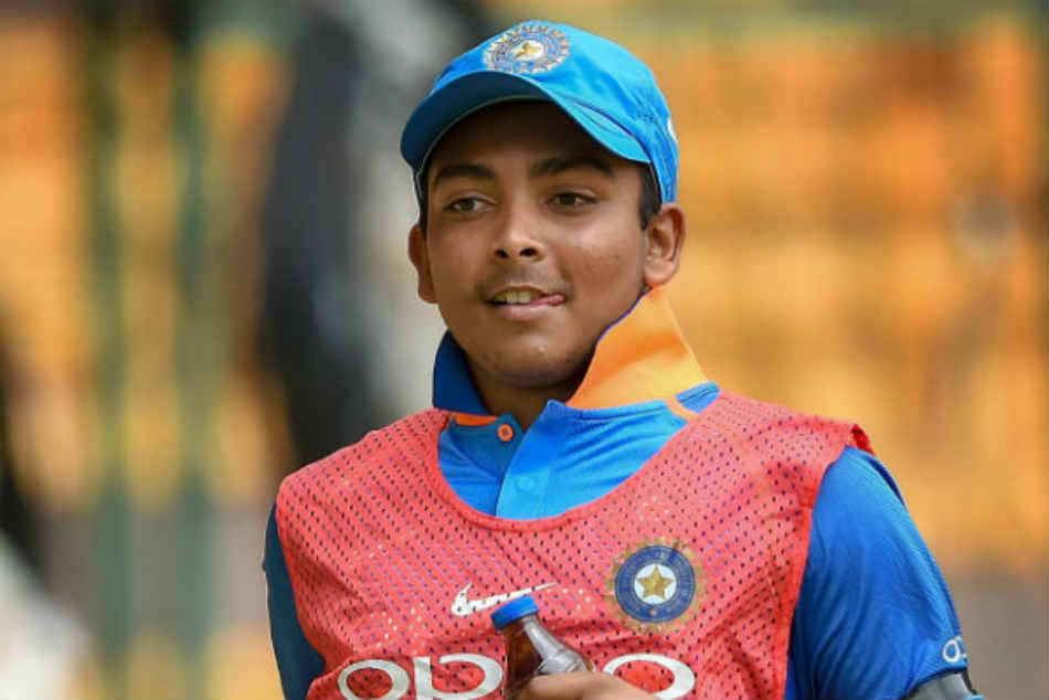 I Don T Pre Meditate Before An Innings Prithvi Shaw