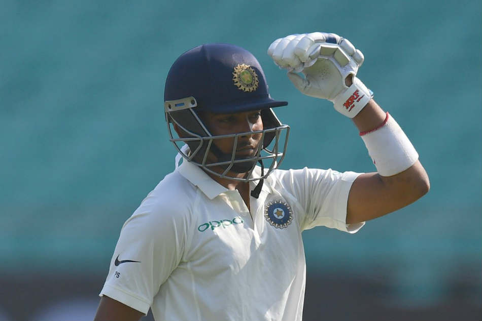 Prithvi Shaw becomes second youngest Indian after Sachin Tendulkar to score a Test century