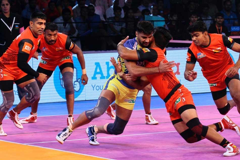 Pro Kabaddi League Bengaluru Bulls Defeat Tamil Thalaivas